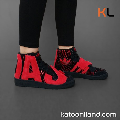 Adidas Jeremy Scott Letters Zebra
