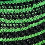 مشکی با خطوط سبز
