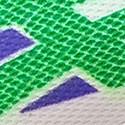 سبز چمنی و سفید